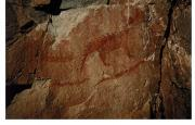 Pictographs - Agawa Rock