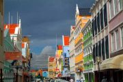 Willemstad. Punda's Hight Street.