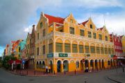 Willemstad. Part of Handelskade Waterfront.