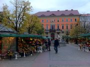 The Solny Square, adjacent to the main Square (Rynek).