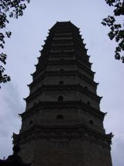 The Pagoda at Famen Si.