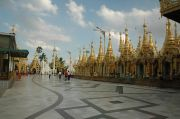 The grounds at Shwedagon