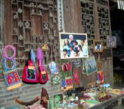 President Clinton Visited, there were like shrines to him all over the village