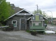 The charming Wildcat cafe