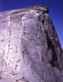 Half Dome's famed CABLES