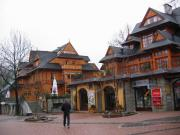 the main street in Zakopane