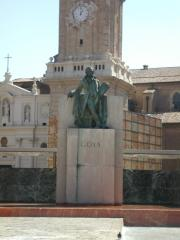Besides this Goya monument is the pubs area called Turbon