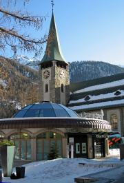 Alpine Museum and the Church