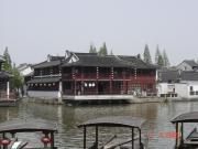 Baoguo Monastry on dianshan lake.