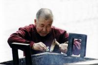 Picture of Monk in Lama Temple