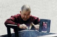 Monk in Lama Temple ctd