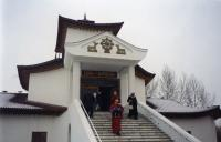 I reached the mythical Tibetan monastery in Kyzyl!