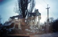 Destruction in Grozny