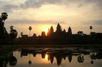 Sunrise over Angkor Wat (2009)