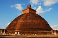 Spell it quickly - Anuradhapura :)