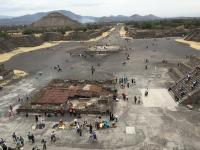 Teotihuacan - Forecast overcast with a high of 29 degrees